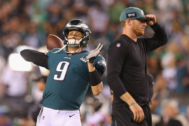 Carson Wentz Or Nick Foles Eagles Know Who Will Start Vs
