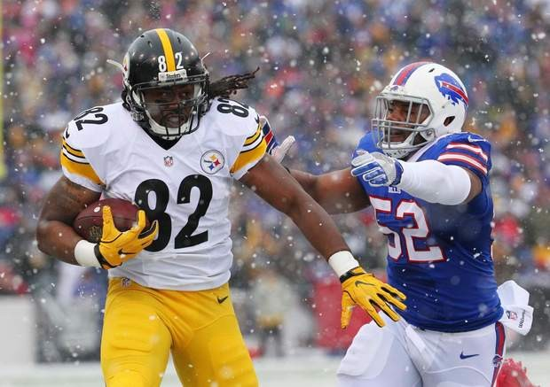 David Johnson, Steelers David Johnson, Presetony Brown, Steelers vs Bills,