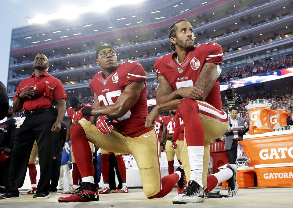 bee5f088f Reactions to a national controversy. San Francisco 49ers safety Eric Reid  ...