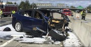 Tesla at odds with one federal agency, but fine with NHTSA in fatal crash probe