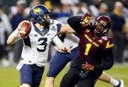 Cactus Bowl: West Virginia goes to the air to edge Arizona State, 43-42