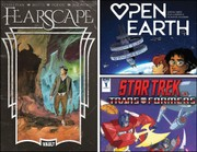 TBT #47: 'Fearscape,' 'Open Earth,' 'Star Trek vs. Transformers' lead new comics