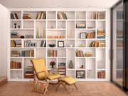 Using Books to Decorate Your Space