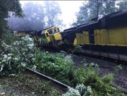 Rains help carry diesel spill from train derailment down Delaware River