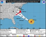 Hurricane Florence could stall for days, pounding Carolinas but limiting rain threat for N.J.