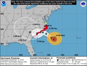 Hurricane Florence set to hit Carolina coast as strong Category 3 storm. What's the timing?
