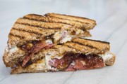 Goat Cheese Bacon Grilled Cheese Recipe