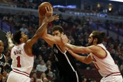 Brook Lopez leads Brooklyn Nets over Chicago Bulls 96-82