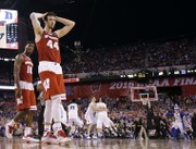 NCAA championship game 2015: 'Frank the Tank' Kaminsky's run comes to end with Wisconsin loss