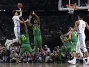 Final Four 2017: North Carolina grabs key rebounds in 77-76 semifinal win over Oregon