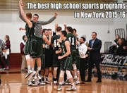 Which high school had the best sports year in New York for 2015-16?