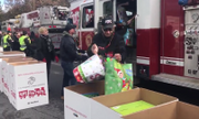 Upstate NY Toys for Tots convoy hauls in whopping 22,000 gifts for kids