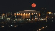 Watch supermoon rising over the Carrier Dome in Syracuse (video)