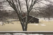 Ice jam flooding forces firefighters to evacuate residents near Sylvan Beach