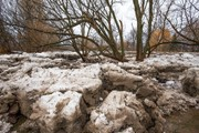 Why has this winter been so bad for ice jams in Upstate New York?