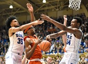 Duke's Marvin Bagley, Wendell Carter completely dominate Syracuse basketball