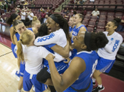Buffalo women's basketball team makes Sweet 16 for first time in school history