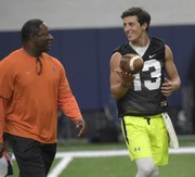 Dino Babers: Syracuse football QB Tommy DeVito 'closed ground' this spring