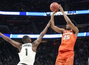 Tyus Battle works out in California in preparation for NBA Combine