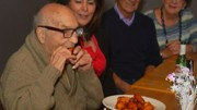 102-year-old man gets 102 free chicken wings on his birthday in Albany