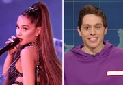 Ariana Grande, Pete Davidson seen at Destiny USA as he begins Syracuse movie