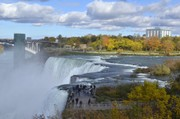 Piles of radioactive dirt greet visitors to Niagara Falls State Park
