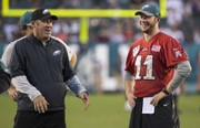 Eagles OTAs: Doug Pederson, Carson Wentz takeaways   Where is Michael Bennett? Who's going to The White House? Will they re-sign Corey Graham?