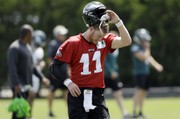 Carson Wentz shines in Eagles' final practice