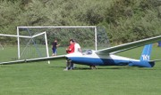 Glider makes a surprise landing on Blairstown soccer field