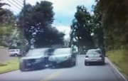 WATCH: Patrol officer nabs alleged road rage driver in act
