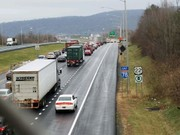 I-78 lane restrictions today for pothole patching