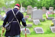 A Civil War soldier forgotten in an unmarked grave is honored once again