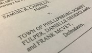 Another Phillipsburg employee sues town over alleged retaliation