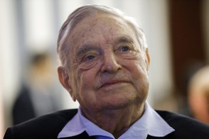 In this May 29, 2018, file photo, philanthropist George Soros, founder and chairman of the Open Society Foundations, attends the European Council On Foreign Relations Annual Meeting in Paris. The FBI and local police responded to an address near Soros' home after an object that appeared to be an explosive was found in a mailbox. (AP Photo/Francois Mori, File)