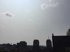 Smoke from wildfires in California has drifted to the East Coast, turning the skies near Syracuse milky white. Glenn Coin   gcoin@syracuse.com