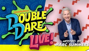 'Double Dare' is going on tour with live shows hosted by Marc Summers.