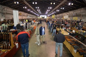 The fall Syracuse Gun Show in the Center of Progress building at the NY State Fairgrounds is the biggest in the state.