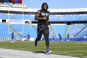 Buffalo Bills running back LeSean McCoy suffered damaged rib cartilage against the Los Angeles Chargers last week.