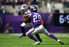 Bills wide receiver Kelvin Benjamin hauled in just three catches for 29 yards against the Minnesota Vikings and had an untimely drop early that forced Buffalo to settle for field goal in the red zone.