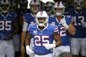 Buffalo Bills running back LeSean McCoy is hoping veteran Derek Anderson can help get the team's offense going this week against the Indianapolis Colts.