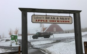 Beak & Skiff's Apple Hill Campus, 2708 Lords Hill Road (Route 80) in LaFayette. The Apple Hill visitors center will remain open from Thanksgiving to Dec. 21 this year.