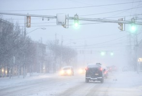 Periodic snow squalls are expected to make Thanksgiving travel hazardous this week.