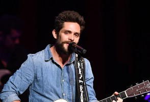 Recording artist Thomas Rhett performs during the award ceremony at CMA Theater at the Country Music Hall of Fame and Museum on October 10, 2018 in Nashville, Tennessee.