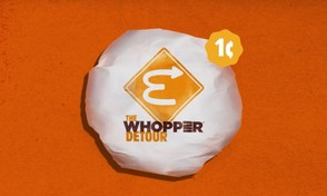 Burger King is sticking it to its rival McDonald's by offering 1-cent Whoppers to anyone who orders the burger from the BK App while near a McDonald's.
