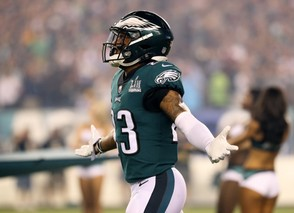 Eagles S Rodney McLeod (23) enters the field for the home opener against the Atlanta Falcons at Lincoln Financial Field in Philadelphia, Thursday, Sept. 6, 2018. Lori M. Nichols | NJ Advance Media for NJ.com