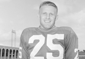 Tommy McDonald, halfback of the Philadelphia Eagles, is pictured in Hershey, Penn., July 26, 1962. (AP Photo   Paul Vathis)