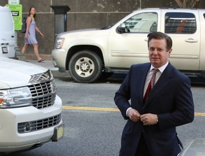 Former Trump campaign manager Paul Manafort arrives for a hearing on June 15, 2018 in Washington, DC. Manafort was found guilty of eight financial crimes on Tuesday, Aug. 21, 2018. (Mark Wilson/Getty Images, File)