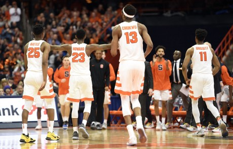 Syracuse Basketball On Right Side Of Ncaa Tournament Bubble For Now