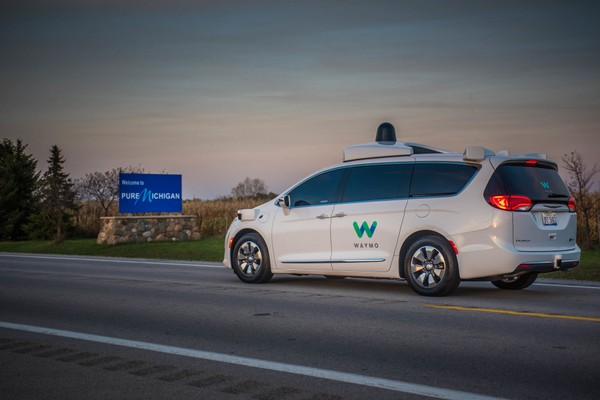 Waymo to test self-driving Pacificas on MI roads this winter