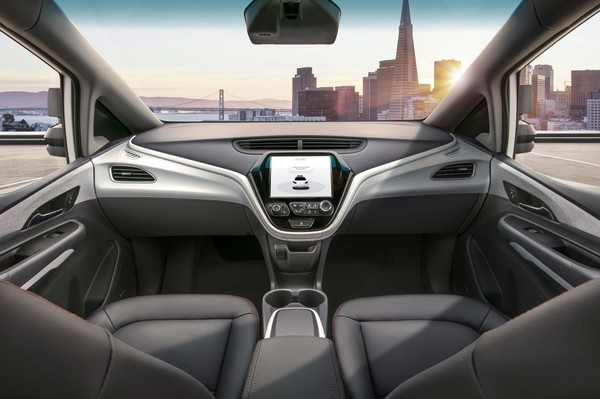 """""""The Cruise AV is designed to operate safely on its own, with no driver, steering wheel, pedals or other manual controls when it goes on the road in 2019."""""""